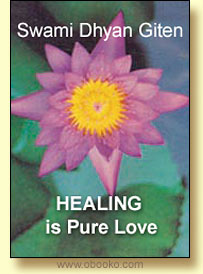 Omslag, Healing Is Pure Love, Obooko